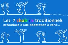 les 7 chakras traditionnels