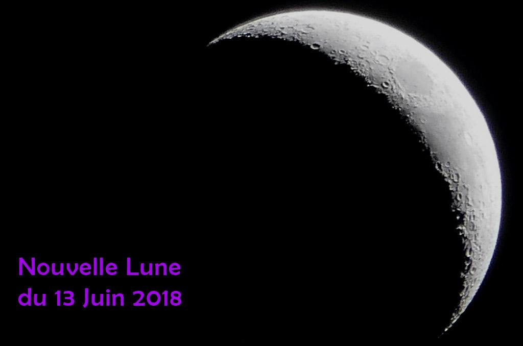 Nouvelle lune du 13 Juin 2018. De 2 choses l'une…