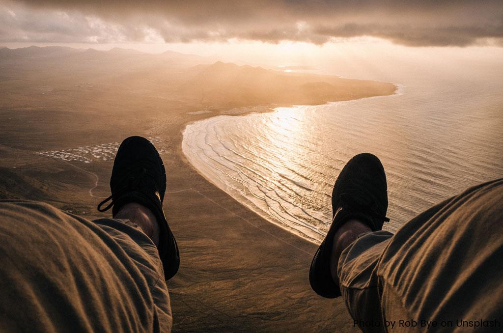 pieds plages soleil
