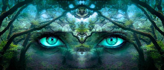 regard-vert-voir