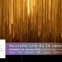 Nouvelle lune en Verseau - Incarner l'abstrait - 24 janvier 20