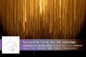 Nouvelle lune en Verseau – Incarner l'abstrait – 24 janvier 20