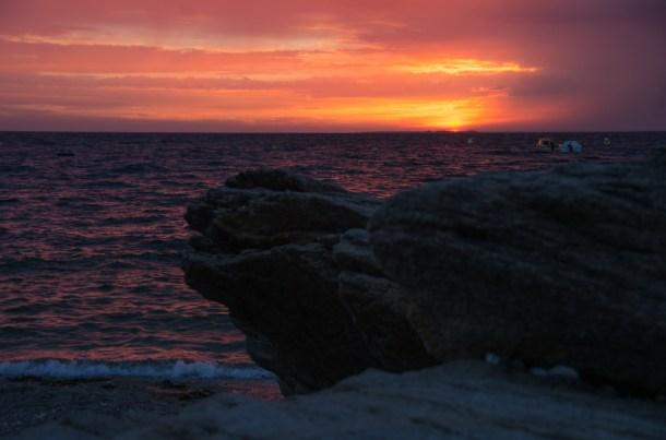 #29/52 - Crépuscule sur l'océan
