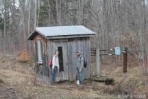 cabane à récolter le sirop d'érable