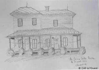 Maison de la ferme belle roche par Clémentine