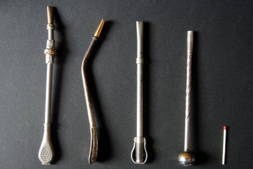 Figure 6: Différents modèles de bombillas. L'allumette est montrée pour l'échelle. Photo: Mariano-J