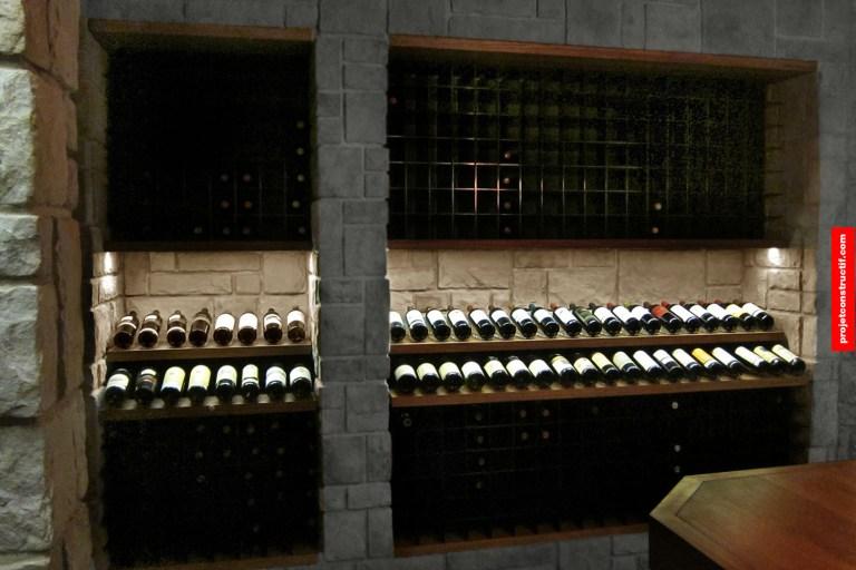 Cave à vins Wine room