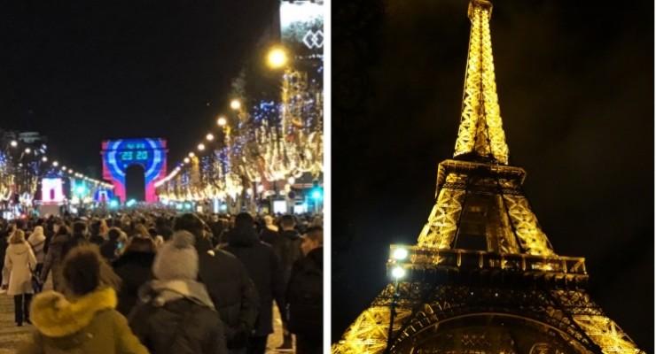 Como é o réveillon em Paris?
