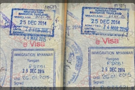 Como tirar o visto de turismo online para Myanmar