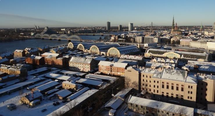 Letônia: turismo em Riga