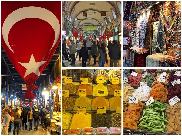 Bazar de especiarias Istambul