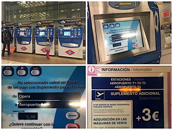 Aeroporto Madri Barajas Metro