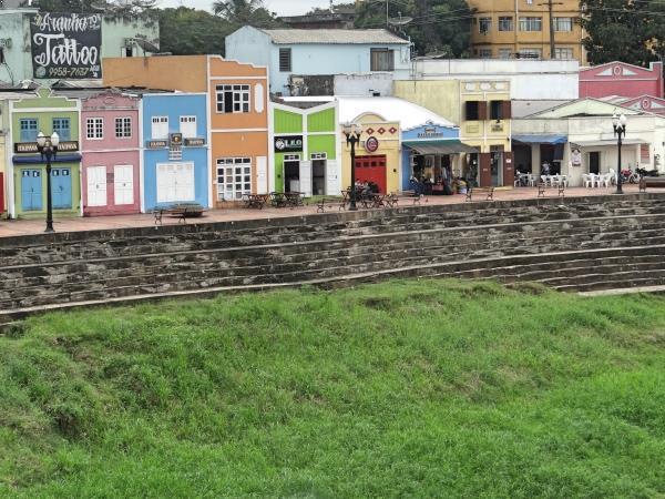 Centro Historico Rio Branco Visto da Ponte
