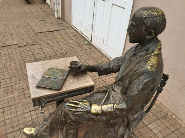 Estatua Juvenal Antunes Rio Branco