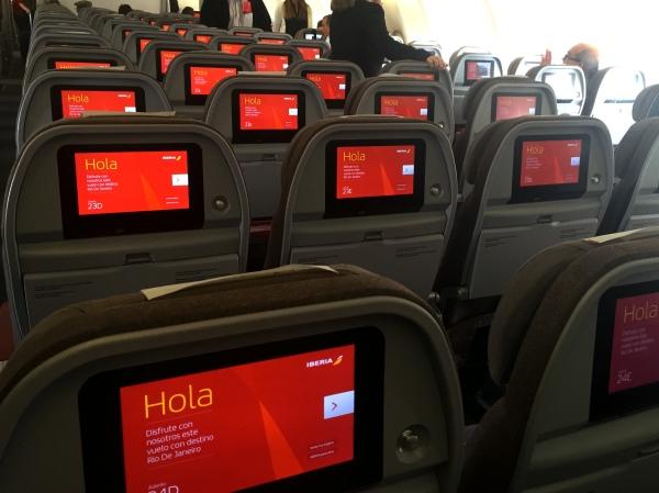 Voo Iberia Madri Rio