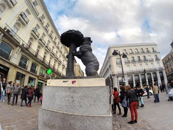 Puerta del Sol Madri