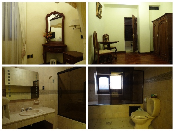 Quarto e Banheiro San Marino Royal Hotel