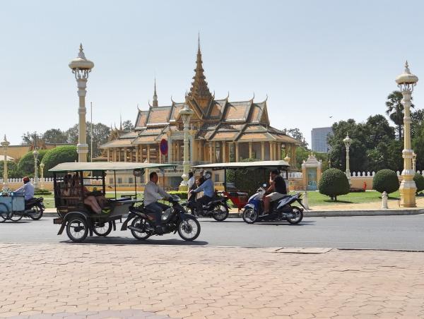 Ruas de Pnhom Penh