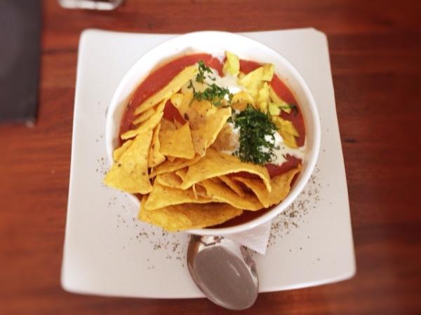 Sopa Mexicana Metro Cafe Sucre