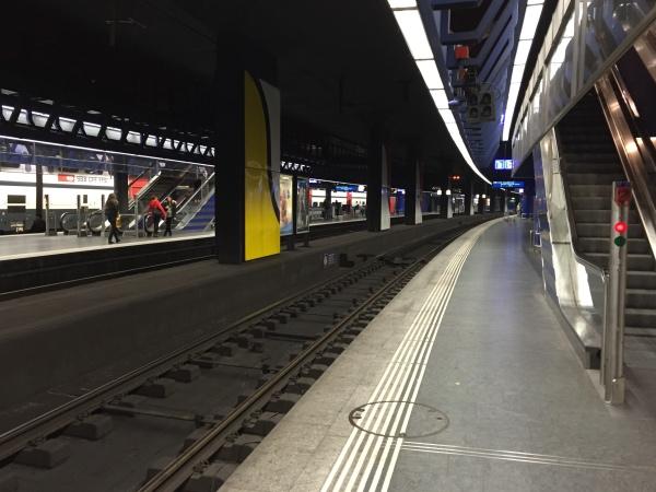Estacao Metro Aeroporto Zurique