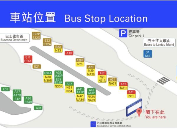 Mapa bus