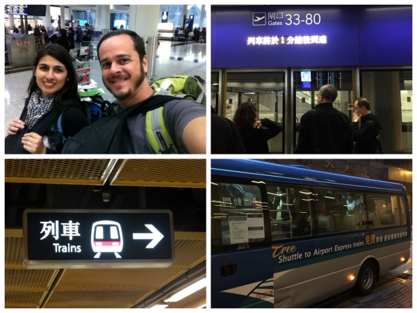 Trem Aeroporto Hong Kong