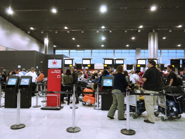 Check in Air Canada em Guarulhos