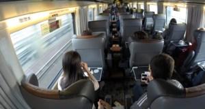 Viajando de trem pelo Canadá