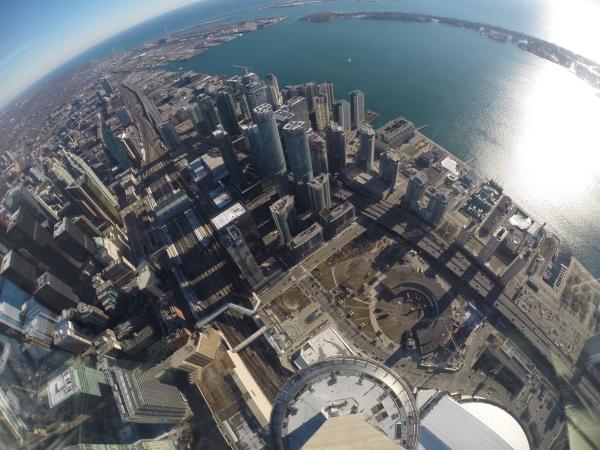 Skypod da CN Tower