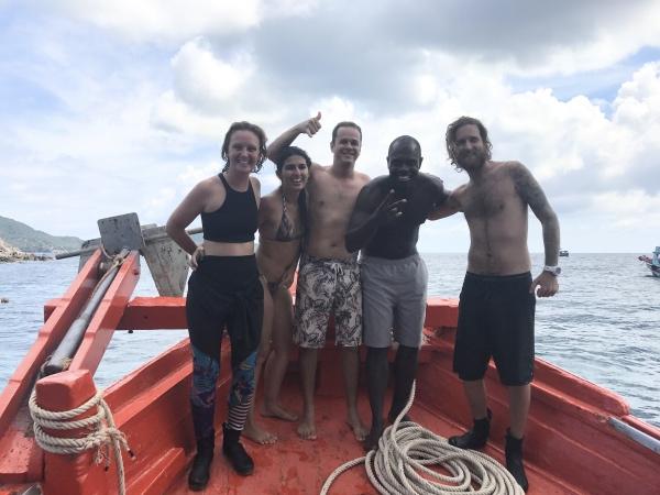 Instrutores de mergulho DJL Diving