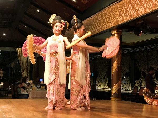 Dança tipica Mandarin Oriental Bangkok