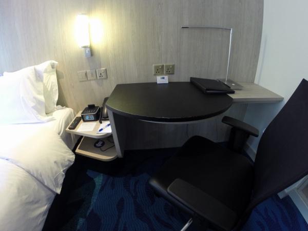 Detalhes quarto Holiday Inn KLCC
