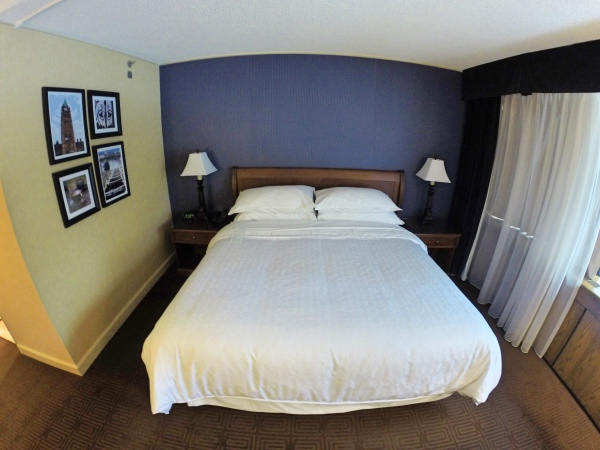 Cama do Sheraton Ottawa
