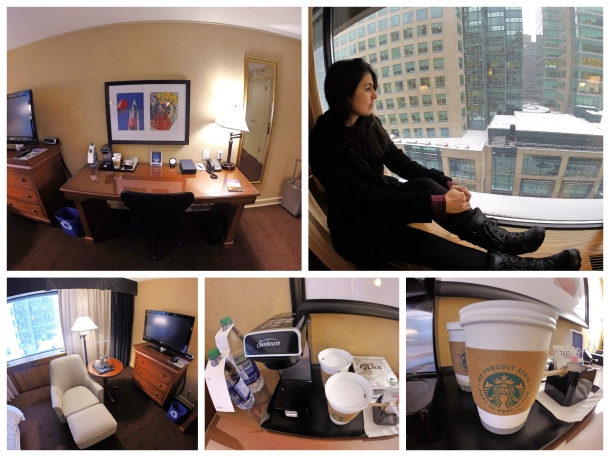 Quarto do Sheraton Ottawa