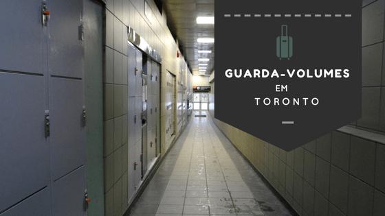 Canadá: onde encontrar guarda-volumes em Toronto