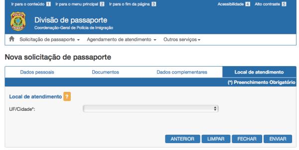 Como solicitar passaporte