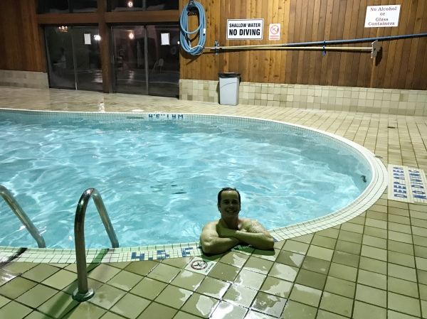 Piscina do Holiday Inn By the Falls
