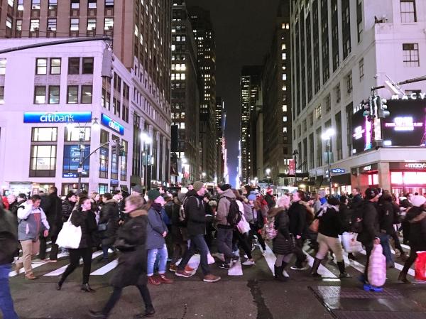 Nova York durante o Natal