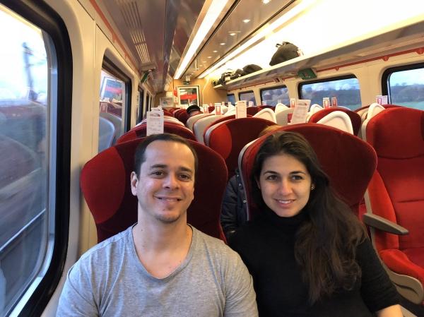 Trem de Edimburgo a Londres