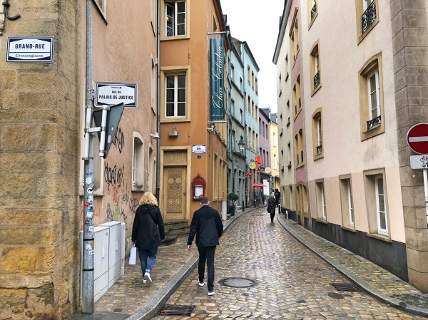 Grand Rue Luxembourg