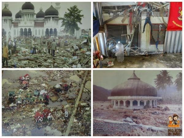 Banda Aceh fotos da cidade destruída