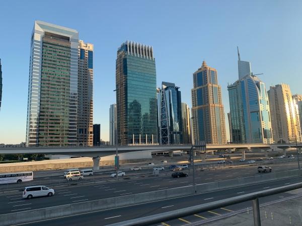 Edifícios da Sheikh Zayed Road