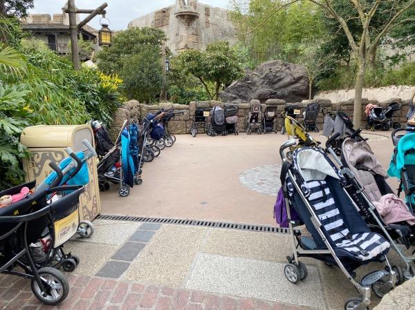 Carrinhos de bebê na Disneyland Paris