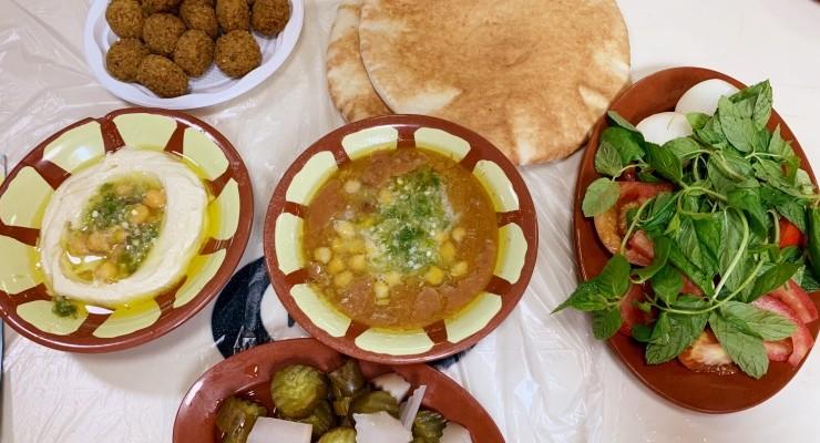 Onde comer em Amã – o melhor homus da vida!