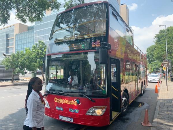 ônibus de turismo em Joanesburgo