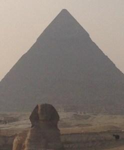 Esfinge -Viagem Egito Multidimensional - Jan 2015