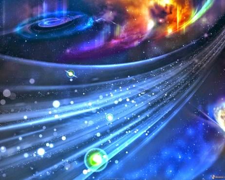 Linhas do tempo multidimensionais do universo