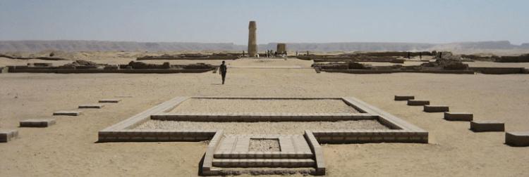 Templo de Atón • Tel El Amarna