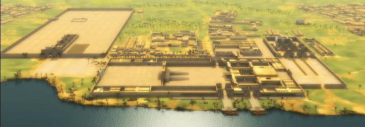 Reconstrução da Capital Akhet-Atón