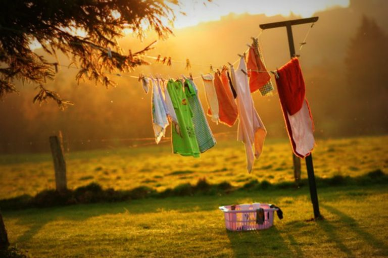 clothes-drying